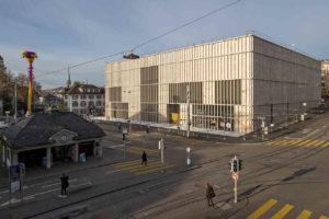 Erweiterungsbau von David Chipperfield für das Kunsthaus Zürich