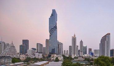 Das MahaNakhon in Bangkok von Ole Scheeren und OMA Office for Metropolitan Architecture gehört zu den fünf Finalisten für den Internationalen Hochhaus-Preis 2019. Bild: Hufton + Crow