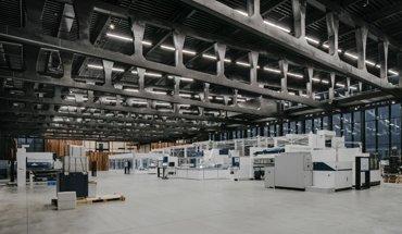 Gewinner des Stahlbau-Preises: Trumpf Smart Factory, Chicago, von Barkow Leibinger. Bild: Simon Menges
