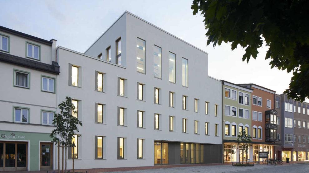 Rathaus in Dorfen, Sieger beim Deutschen Ziegel-Preis 2021