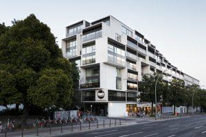 """GRAFT wurde für das Wohnbauprojekt """"Paragon Apartments"""" in Berlin mit dem 1. Preis beim Award Deutscher Wohnungsbau 2019 ausgezeichnet."""