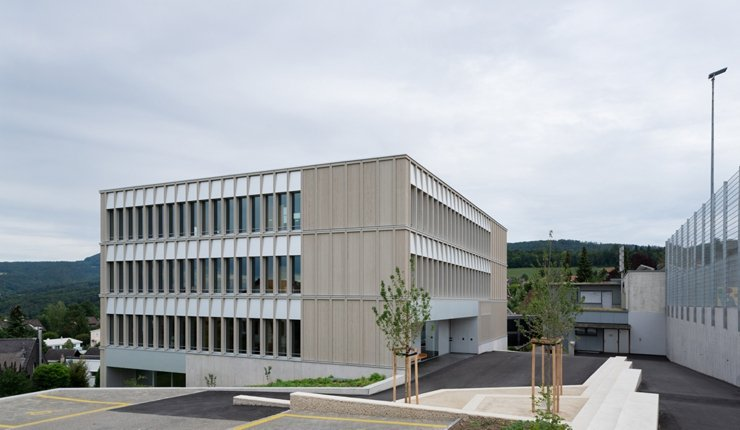 Neues Schulhaus in Baselland