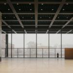 Neue Nationalgalerie in Berlin von innen