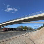 Brücke bei Schwaig im Zuge der A 3 bei Nürnberg. Bild: Hajo-Dietz-Fotografie