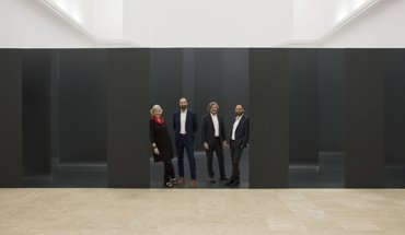 """Auf der 16. Architekturbiennale von 26. Mai bis 25 November 2018 ist im Deutschen Pavillon die Ausstellung """"Unbuilding Walls"""" von GRAFT zu sehen. Bild: Jan Bitter"""