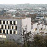 Staffelgebäude John Cranko Schule Stuttgart. Bild: Brigida González