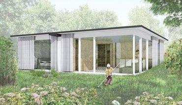 Bewegliches Haus von Rahbaran Hürzeler Architekten. Bild: Rahbaran Hürzeler Architekten