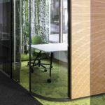Büroraum im IdeenReich feco feederle in Karlsruhe. Bild: Nikolay Kazakov