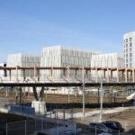 Fußgängerbrücke von Dietmar Feichtinger Architectes