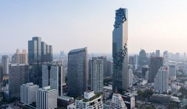 Internationaler Hochhaus Preis 2018. Büro Ole Scheeren und OMA Office for Metropolitan Architecture: MahaNakhon, Bangkok, Thailand. Bild: Iwan Baan