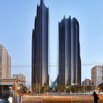 Chaoyang Park Plaza (Peking/China) von MAD Architects, Peking/China. Bild: Hufton + Crow
