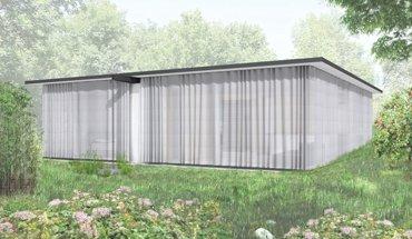 Das in Element- und Modulbauweise errichtete »movable house« von Rahbaran Hürzeler Architekten kann ab- und wiederaufgebaut werden. Rendering: Rahbaran Hürzeler Architekten