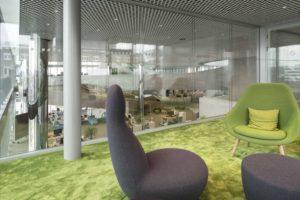 Büro im Merck Innovation Center Darmstadt. Bild: Nikolay Kazakov