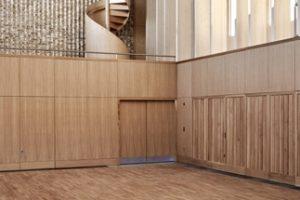 Drei Projekte aus amerikanischem Laubholz wurden bei den britischen Wood Awards 2018 ausgezeichnet, einem wichtigen Preis für Gebäude und Möbel aus Holz.