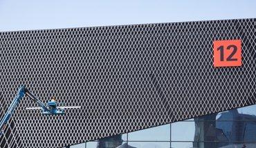 Die neue Halle 12 trägt zu einem eingängigen Geländekonzept auf der ISH bei. Bild: Messe Frankfurt Exhibition GmbH / Jean-Luc Valentin