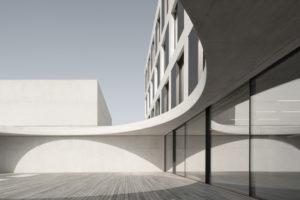 Innenhof der John Cranko Schule Stuttgart. Bild: Brigida González