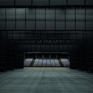 Probebühne mit Blick auf den Zuschauerraum