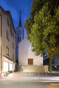 Sonderpreis Bauen im Bestand. Auferstehungskirche Überlingen. Wandel Lorch Architekten, Frankfurt / Saarbrücken. Bild: Nils Kochem