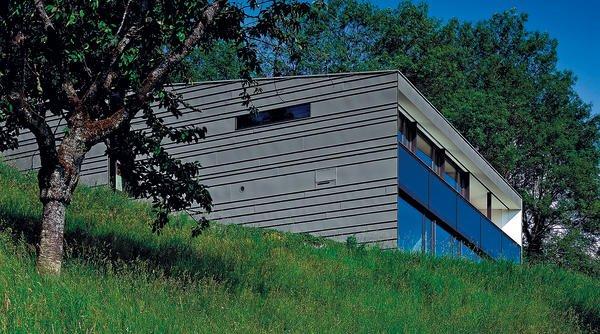 Neubau eines wohnhauses in klaus in vorarlberg kompromisslos for Minimalismus im haus buch