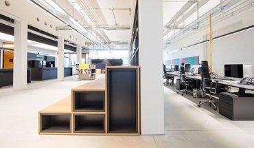 Ein gelungenes Großraumbüro im Werk3 in München, entworfen und geplant von conceptsued Modal M. Bild: Christian Krinninger