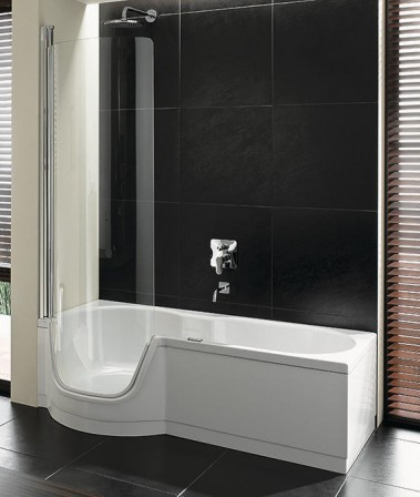 die dusche zum baden. Black Bedroom Furniture Sets. Home Design Ideas