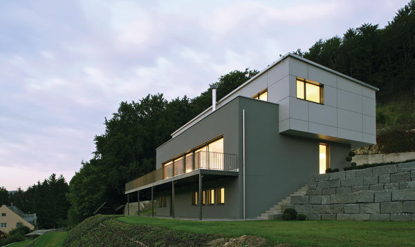 neubau eines wohnhauses im passivhausstandard in riedenburg kompromisslos. Black Bedroom Furniture Sets. Home Design Ideas