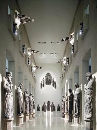 Umbau sanierung und erweiterung des augustinermuseums in for Raumtreppe