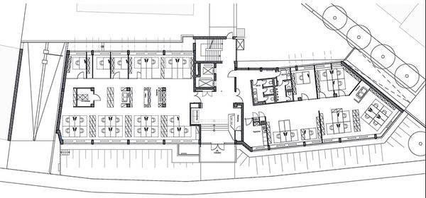 moderne burokonzepte grundriss, sanierung und modernisierung eines bürogebäudes in frankfurt am main, Design ideen