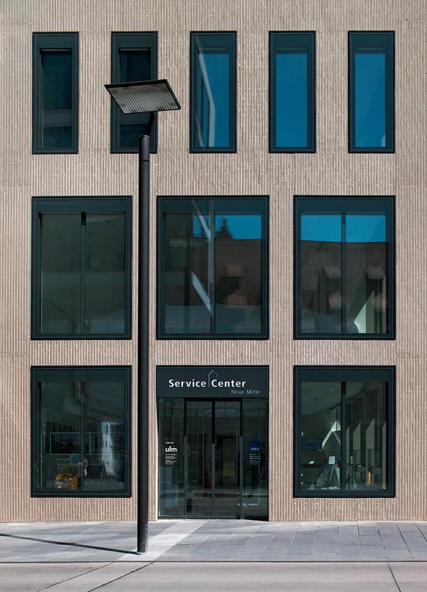 neubau eines service centers in ulm nadelstreifen look. Black Bedroom Furniture Sets. Home Design Ideas