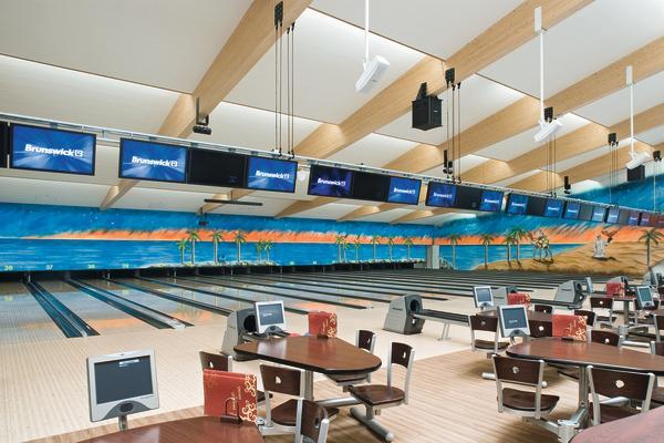 neubau eines bowling centers in unterf hring ruhige kugel schieben. Black Bedroom Furniture Sets. Home Design Ideas