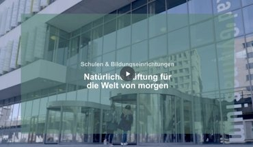 Kampagne für frische Luft und die natürliche Lüftung von Gebäuden. Bild: WindowMaster