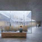 Learning Center Uniklinik, Düsseldorf, 2018. Baumschlager Eberle Architekten, Hamburg. Visualisierung: Nightnurse Images, Zürich