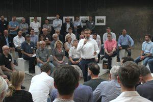 Gut besucht: die achte Impulsveranstaltung, zu der Brüninghoff nach Essen auf Zeche Zollverein einlud. Bild: Brüninghoff