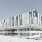 Der Neubau der Augenklinik am Tübinger Schnarrenberg wurde mit dem AKG-Preis 2019 ausgezeichnet. Bild: Brigida Gonzalez, Stuttgart