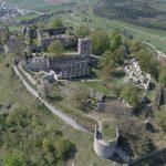 Drohnenaufnahme der Festungsruine Hohentwiel. Bild: Staatliche Schlösser und Gärten Baden-Württemberg / Prof. Dr. Julian Hanschke