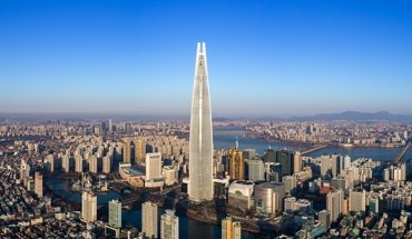 Der Lotte World Tower in Seoul ist Wolkenkratzer des Jahres. Bild: Tim Griffith