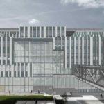 Architekturzeichnung vom Projekt Boehringer Ingelheim Austria/Forschungsinstitut für Molekulare Pathologie (IMP), Wien