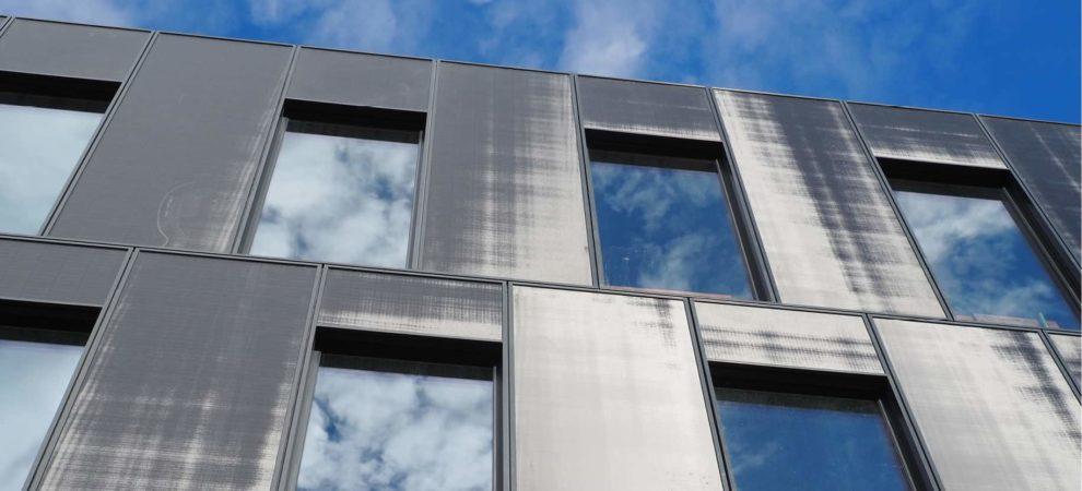 Innovative Elementfassade von Drees & Sommer.