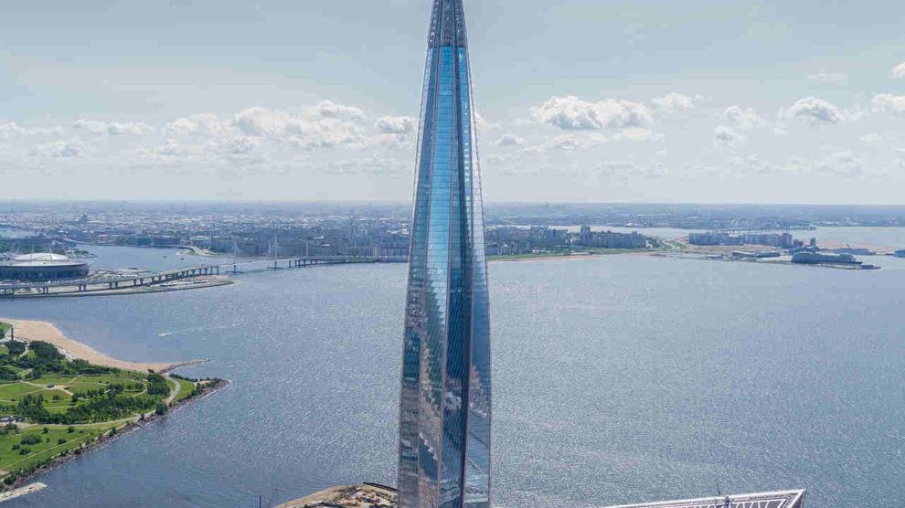 Wolkenkratzer Lakhta Center