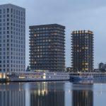 """Die Wohntürme Westkaai 5 & 6 wurden beim Wienerberger Brick Award 2018 gleich zweimal ausgezeichnet: als Sieger der Katego-rie """"Living together"""" sowie als einer der beiden Grand-Prize-Gewinner."""