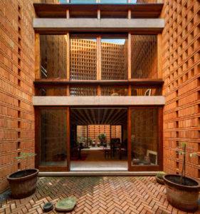 Wohnhaus Iturbide Studio in Mexiko