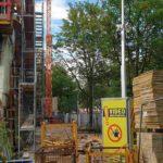 Baustellenüberwachung per Kameraturm
