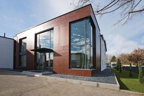 umbau und erweiterung eines verwaltungsgeb udes in. Black Bedroom Furniture Sets. Home Design Ideas