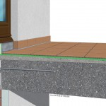 Eine Balkonkragplatte, die durch einen 'Isokorb' vom Innenraum entkoppelt ist, bedarf energetisch keiner großen Anstrengungen, um den Vorschriften zu entsprechen. Bilder: Proline