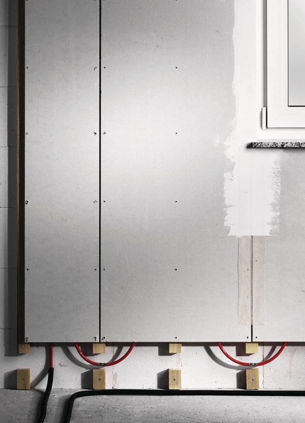 wandheizung im trockenbau wenn s nicht nass werden soll. Black Bedroom Furniture Sets. Home Design Ideas