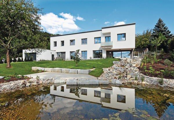 Neubau eines wohnhauses in amberg individuelle eleganz - Architekt amberg ...