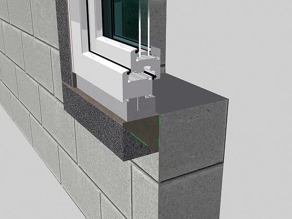 Mit dem ift-geprüften Vorwandmontage-System werden Fenster statisch und bauphysikalisch perfekt vor der Wand eingebaut – auch in Passivhäusern. Bild: Tremco illbruck
