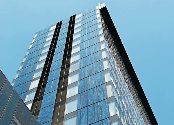 Fassadenintegrierte Photovoltaik als Gestaltungselement
