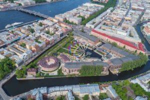 """Denkmalschutz: Das Projekt """"New Holland"""" in St. Petersburg wird in diesem Jahr mit dem Bernhard Remmers Preis """"International"""" ausgezeichnet. Bild: New Holland Development, LLC"""