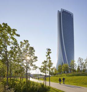 Generali Tower in Mailand, Italien. Architekten: Zaha Hadid. Bild: Hufton+Crow